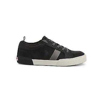 U.S. Polo Assn. - Shoes - Sneakers - ARMAN7100W9_CY1_BLK - Men - Schwartz - EU 45