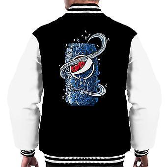 Pepsi Doodle kunt mannen Varsity Jacket