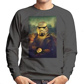 Original Stormtrooper Mona Trooper Parody Men's Sweatshirt