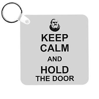 Hodor Keep Calm And Hold The Door Game Of Thrones Keyring
