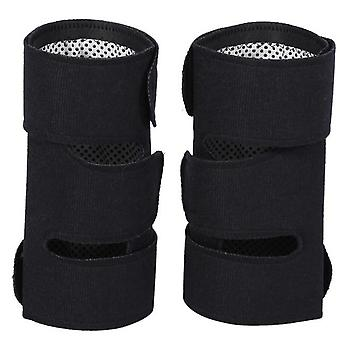 1 Pair Tourmaline Self Heating Knee Protector - Magnetic Therapy Knee Protective Belt  Arthritis Brace Supports