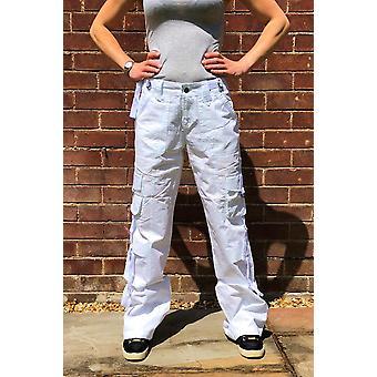 Lightweight Wide Leg Cargo Pants Combat Trousers Long Leg