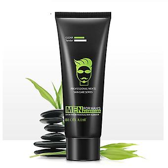 Men's Bamboo Charcoal, Moisturizing, Deep Cleaning Skin Care Cleanser - 80gm