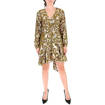 L'autre Koos B151098910101f099 Dames's Multicolor Viscose Dress
