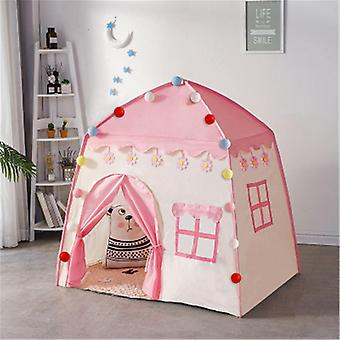 Play Kids Tent Indoor Outdoor Princess Castle Folding Cubby Toys, Enfant Room