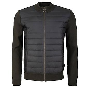 Barbour Carn Baffle Zip Through Jumper