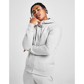 Novos homens McKenzie ' s essencial zip through hoodie Grey