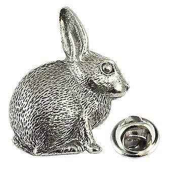 Ties Planet Rabbit Pewter Lapel Pin Badge