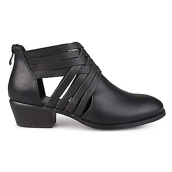 Brinley Co Women's Schoenen Thelma Closed Toe Ankle Fashion Boots