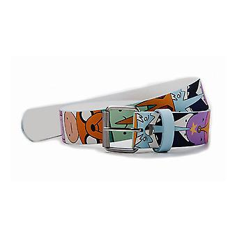 Adventure Time Caractere PU Printed Belt Mare (BT290103ADV-L)