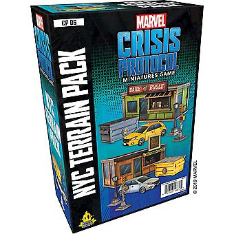Marvel Crisis Protocol NYC Terrain Expansion Pack