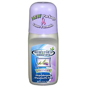 Naturally Fresh Roll On Deodorant, Lavender 3 Oz