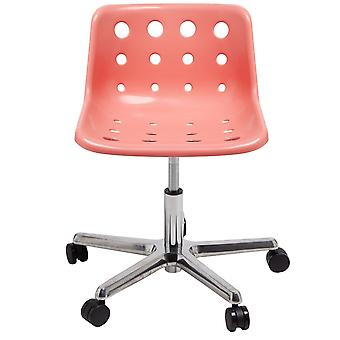Loft Robin Day 5 Star Coral Pink Plastic Polo Chair