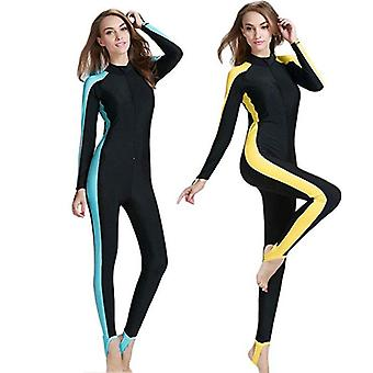 Muslim Swimsuit Design Long-sleeve Surfing Suit Sun Protection Islamic Swimwear