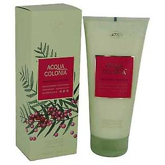 4711 Acqua Colonia Pink Pepper & Grapefruit By Maurer & Wirtz Body Lotion 6.8 Oz (women) V728-540778