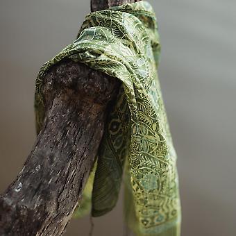 Sciarpa Daun Silk Batik