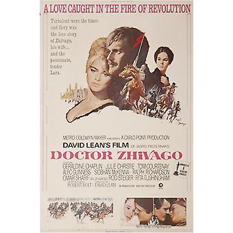 Impresión de póster de película de Doctor Zhivago (27 x 40)