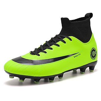 Bărbați Fotbal Cizme High Glezna Fotbal Femei Soft Ground Man Trainer Gym Sosete