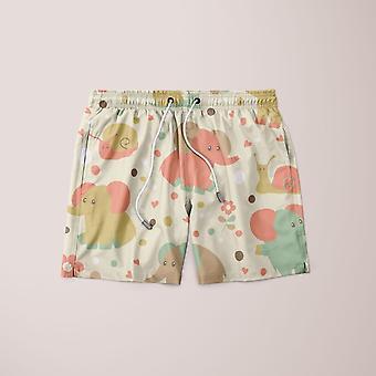 Toy pattern shorts
