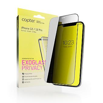 Copter Privacyfilter iPhone 12/12 Pro Curved Edition