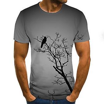 T-shirt à manches courtes 3d Print Novelty/hommes