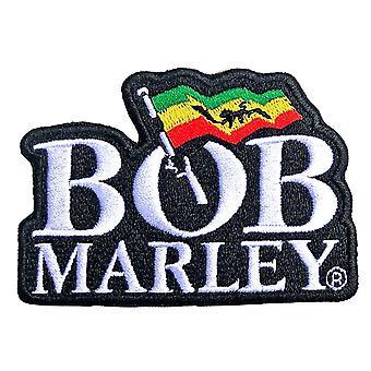 Bob Marley Patch Logo uusi virallinen musta