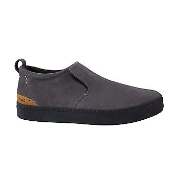 Toms Paxton Shade Suede Water Resistant Grey Slip On Boots Shoes Mens 10012521