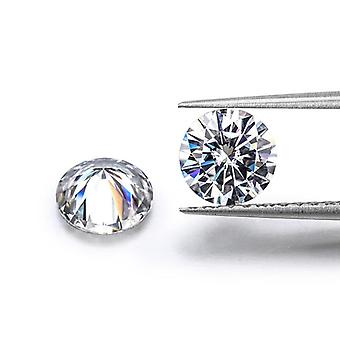 Loose Moissanite 0.5 Carat Ij Color Round Shape Ring