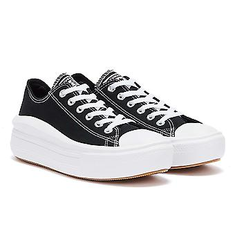 Converse Move Platform Ox Womens Black / White Trainers