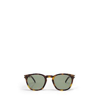 Saint Laurent SL 28 SLIM havana unisex solbriller