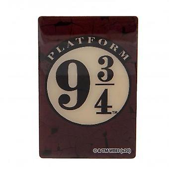 Harry Potter Fridge Magnet 9 & 3 Quarters