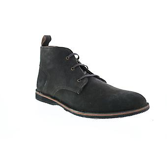 Andrew Marc Dorchester Chukka  Mens Gray Suede Chukkas Boots