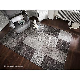 Manhattan svart grå matta