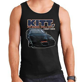 Knight Rider KITT The Original Smart Car Men's Vest