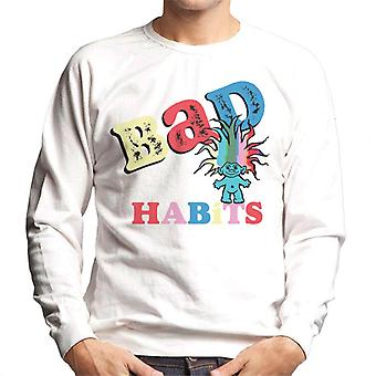 Trolls Bad Habits Multicolour Men's Sweatshirt