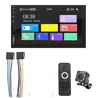 "AutoRadio Bluetooth Android Auto 7"" Touch Screen Video Mp5 Player, Usb Tf Iso"
