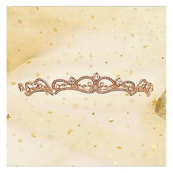 Bryllup Crown For Bride, Headpiece Barokk Tiara og Crown Fashion, Prinsesse