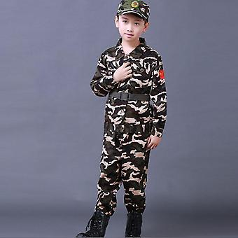 Militær trening uniformer bekjempe taktisk kamuflasje sommerleir fest / hær