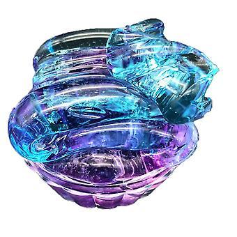 Pallo kristalli pörröinen slimes