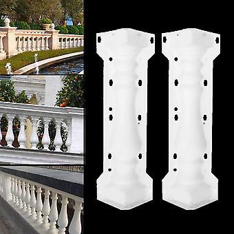 Column Mold Balcony Garden Pool Fence, Cement Railing, Plaster Concrete
