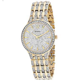 Bulova Women's Phantom Silver Dial Watch - 98L263