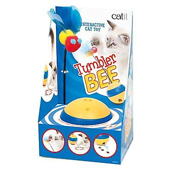 Catit Play Tumbler Bee Interactive Toy (Cats , Toys , Movement)