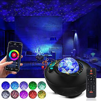 Galaxy Projector Star Projector Ocean Galaxy Light With Bluetooth Music Speaker Galaxy Night Light Work With Alexa Google Home Galaxy 360 Pro Galaxy L