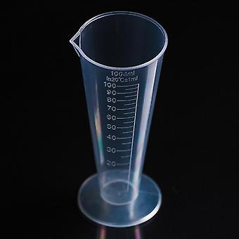 Medindo copo plástico (100ml claro)