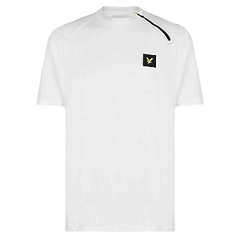 Lyle & Scott Casuals Raglan Zip T-Shirt - White