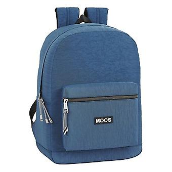 Laptop Backpack Moos Jeans 15,6'' Navy Blue