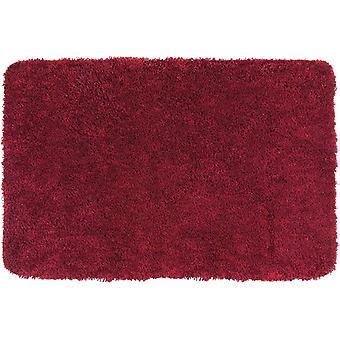 bad vorleger Mélange 60 x 90 cm polyester rood
