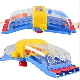 Katapult basketleksak plast mini katapult boll maskin tidig utbildning förälder-barn interaktiv leksak brädspel