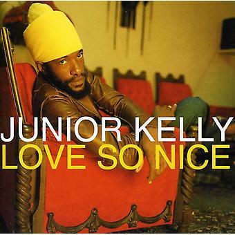 Junior Kelly - Love So Nice [CD] USA import