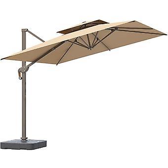 Terassi Sateenvarjo Roomalainen Sateenvarjo Booth Big Sun Sateenvarjo Ulkoterassi Puutarha